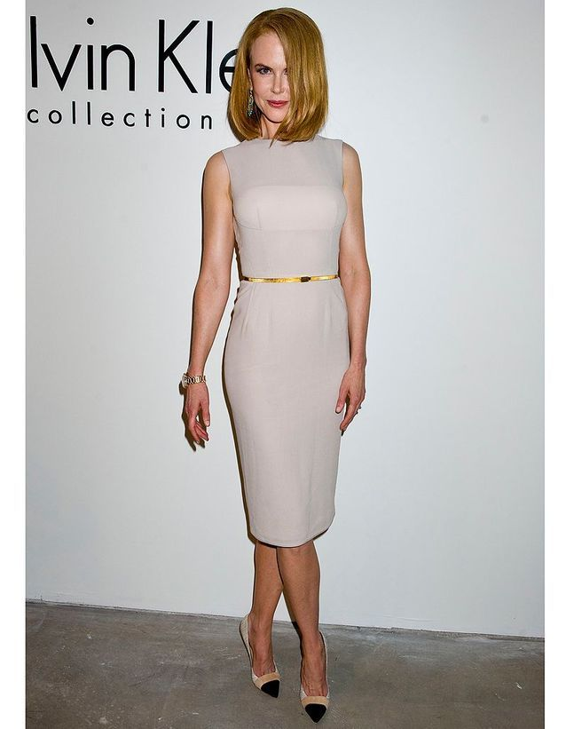 Nicole Kidman au défilé Calvin Klein