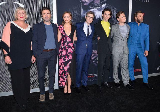 L'équipe du film The King