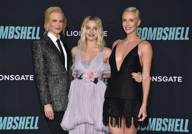 Margot Robbie, Nicole Kidman et Charlize Theron : trio de charme sur le tapis rouge