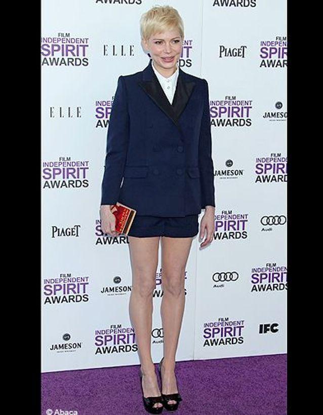 Michelle Williams lors de la cérémonie des Independent Spirit Awards