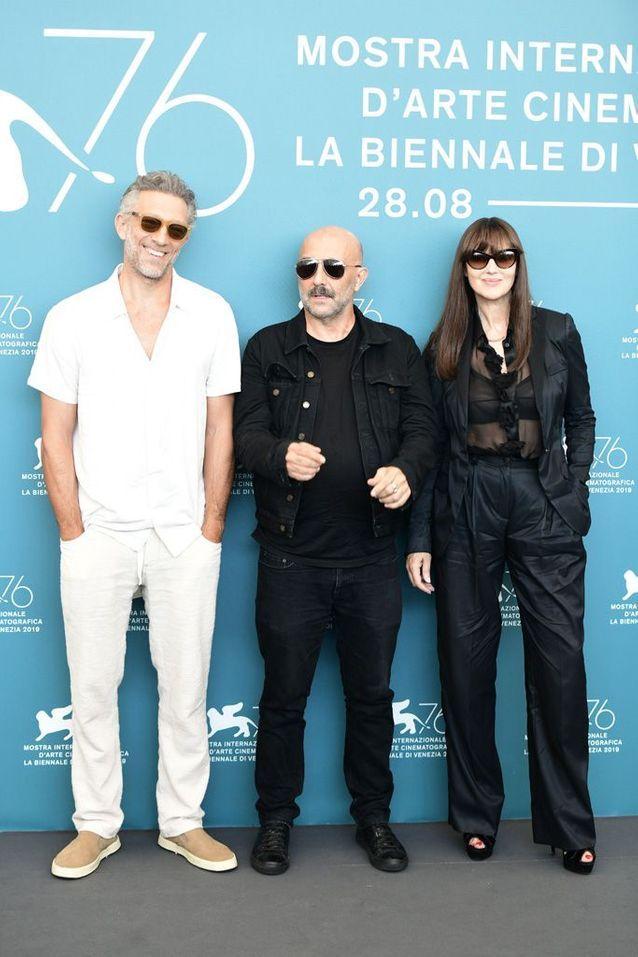 Vincent Cassel, Gaspar Noé et Monica Bellucci