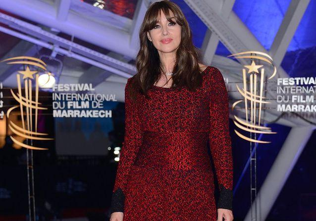 Monica Bellucci, rayon de soleil du festival du film de Marrakech