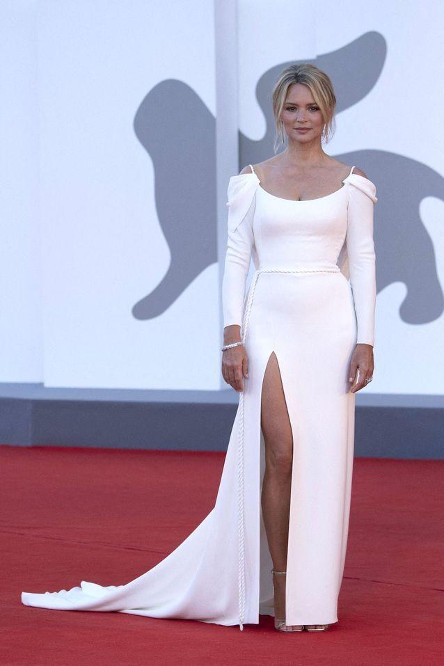 Virginie Efira en Christian Dior Haute Couture