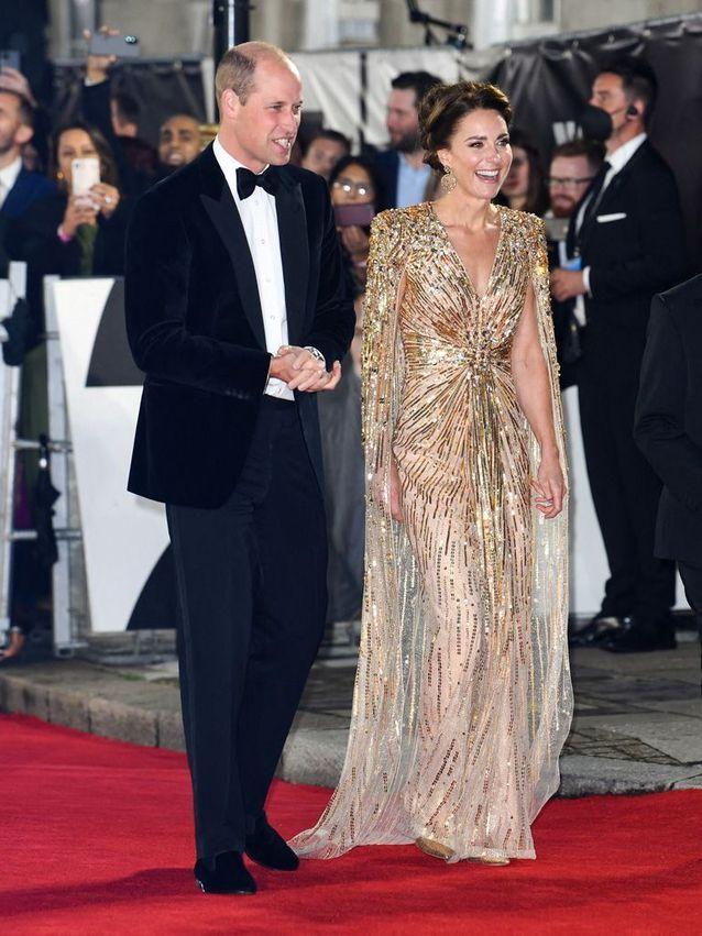 L'arrivée du prince William et de Kate Middleton