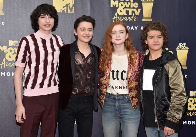 MTV Movie Awards 2018 : les castings de Stranger Things, Riverdale et 13 Reasons Why réunis sur le tapis rouge