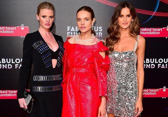 Natalia Vodianova réunit les mannequins du moment pour le gala de la Naked Heart Foundation