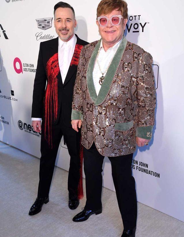 Elton John et David Furnish