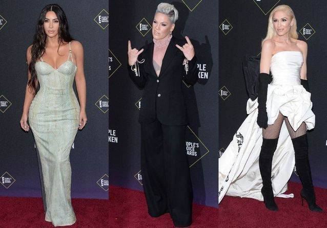 People's Choice Awards : Gwen Stefani, Pink, Kim Kardashian et Zendaya sur le red carpet