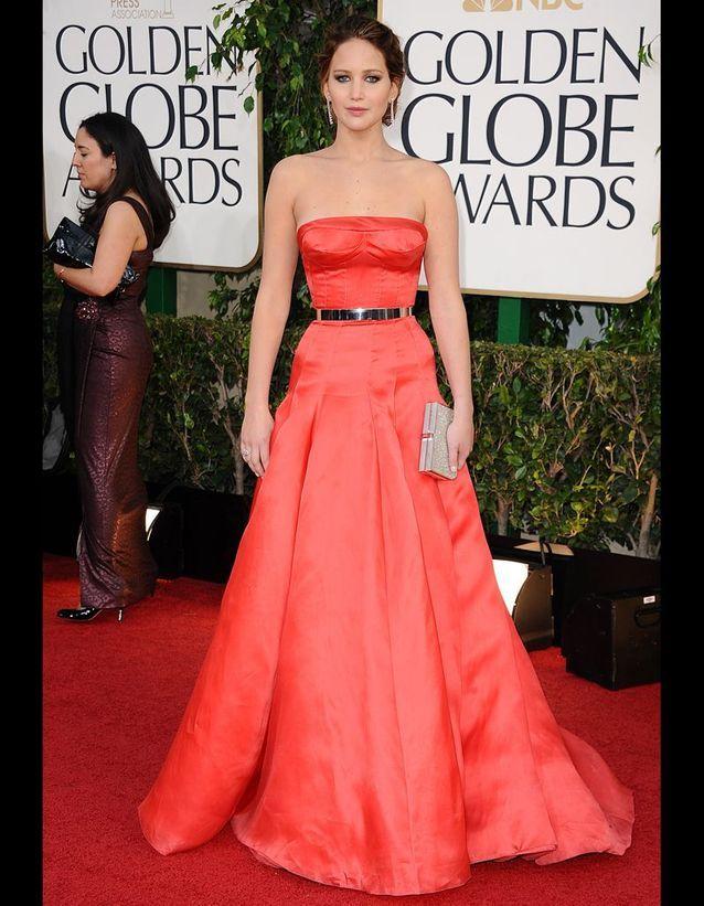 Jennifer Lawrence en Christian Dior Couture