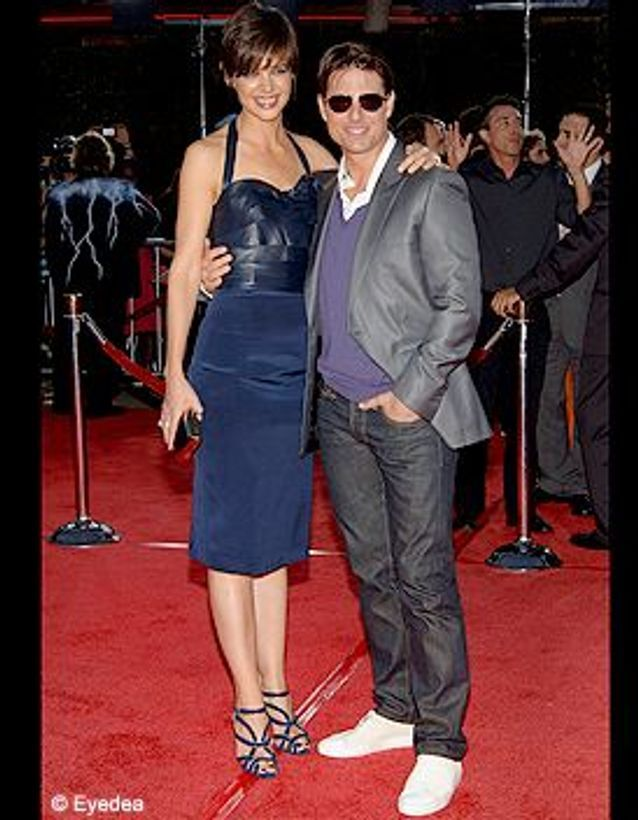People_tapis_rouge_tropc_thunder_Katie_Holmes_Tom_Cruise