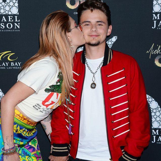 Paris Jackson embrasse son frère Prince