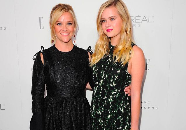 Reese Witherspoon et Ava, duo mère-fille de charme à la soirée ELLE Women in Hollywood