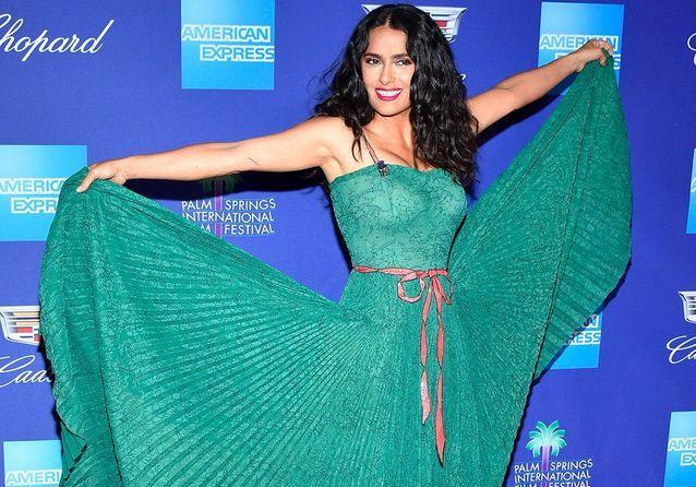 Salma Hayek - Jessica Chastain : qui était la plus stylée au Palm Springs Festival ?