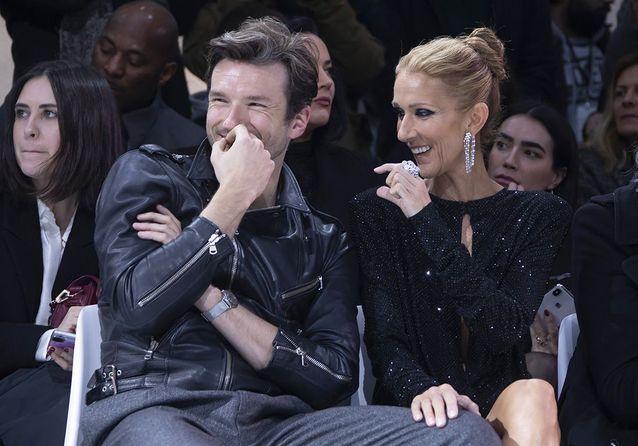 Céline Dion, star de la Fashion Week de Paris avec Pepe Munoz