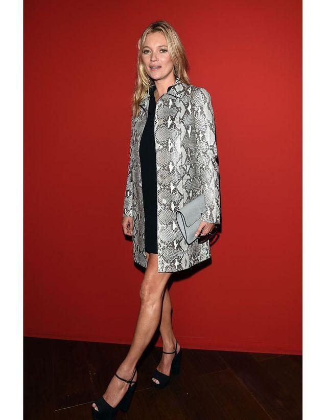 Kate Moss au défilé Gucci