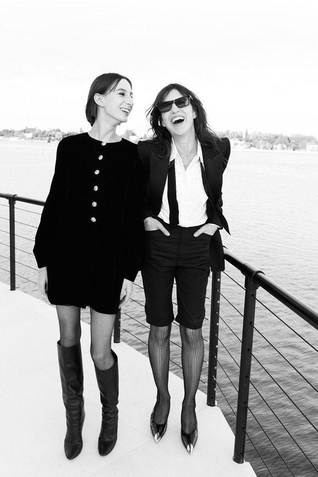Charlotte Gainsbourg et sa fille Alice Attal