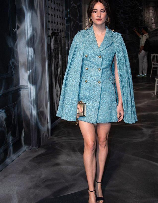 Shailene Woodley au défilé Dior