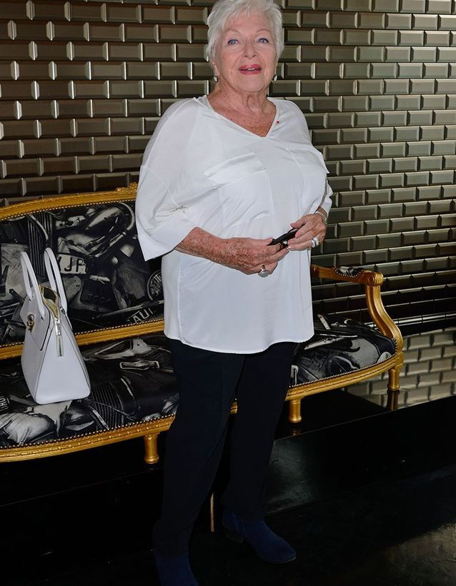 Lina Renaud au défilé Jean Paul Gaultier