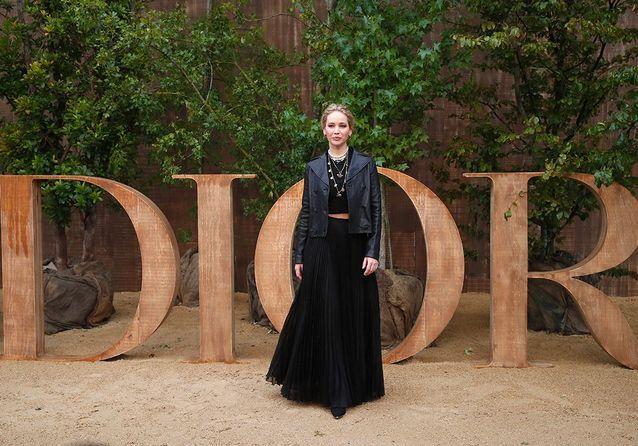 Dior : Jennifer Lawrence et Monica Bellucci, sublimes à la Fashion Week de Paris