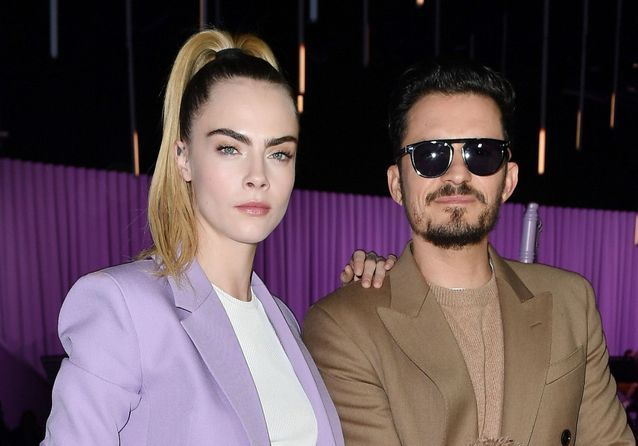 Fashion Week de Milan: Cara Delevingne, Orlando Bloom… au défilé Hugo Boss