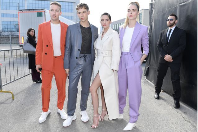 Peter Zurkuhlen, Tommy Dorfman, Ashley Benson et Cara Delevingne