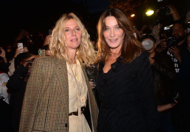 Fashion Week de Paris : Catherine Deneuve, Carla Bruni et Sandrine Kiberlain stars du défilé Celine