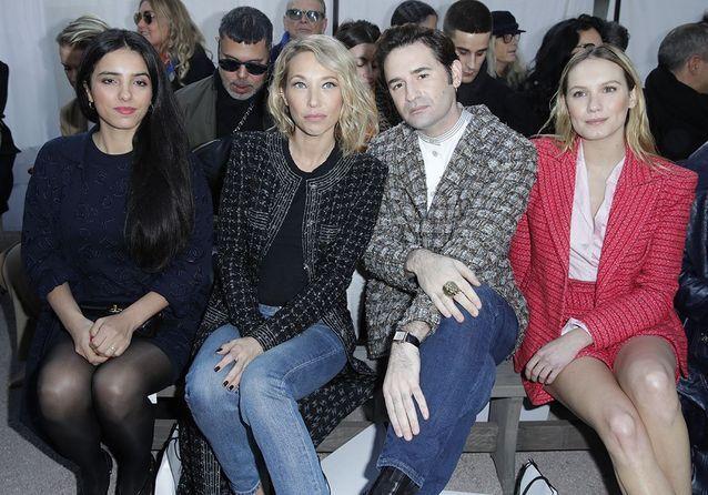Haute Couture : Laura Smet et Inès de la Fressange dans le jardin Chanel