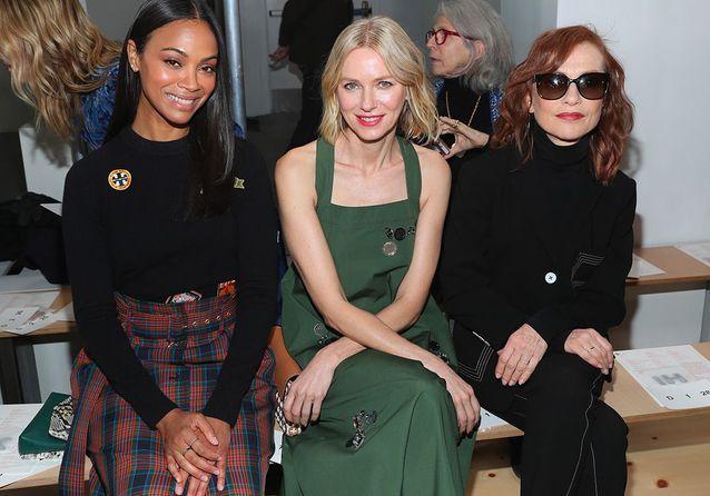 Kate Moss, Kendall Jenner, Isabelle Huppert : toutes à la Fashion Week de New York !