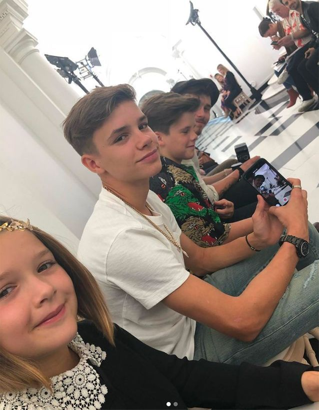 Les enfants Beckham