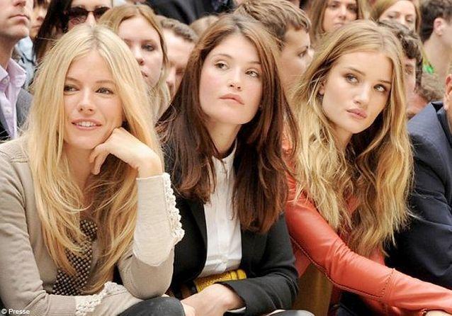Les stars à la Fashion Week de Londres