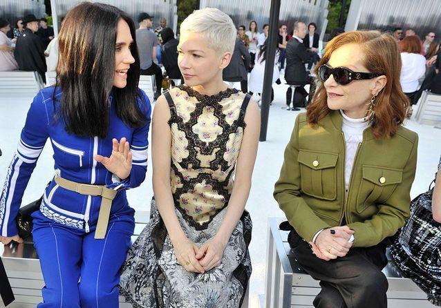 Les stars au défilé Louis Vuitton Croisière