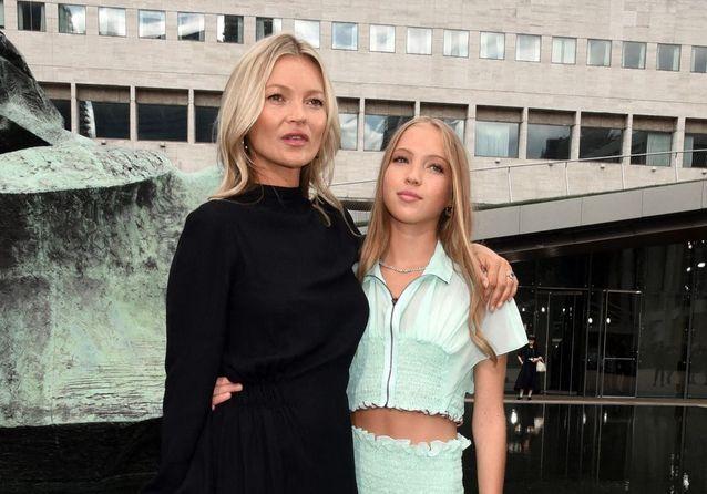 New York Fashion Week 2019 : Kate Moss et sa fille Lila Grace, divines pour Longchamp