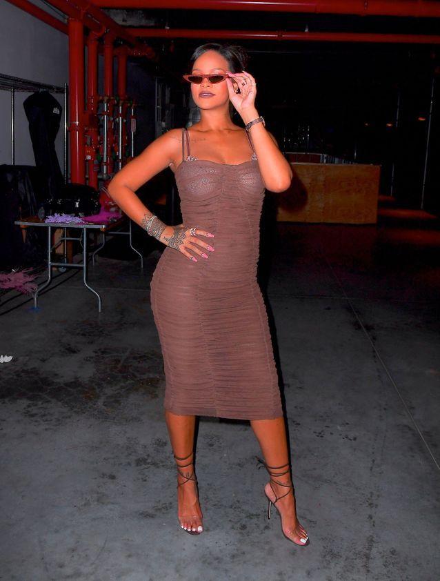 Rihanna au défilé Savage x Fenty