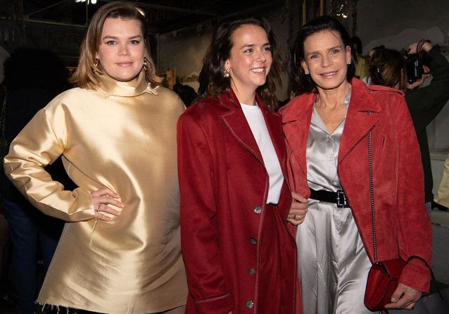 Stéphanie de Monaco : soutien de taille pour sa fille Pauline Ducruet, à la Fashion Week de Paris