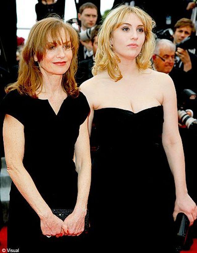 Isabelle Hupper et sa fille