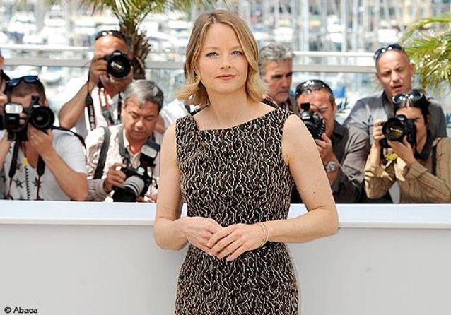 """Jodie Foster sur la Croisette pour """"Le complexe du castor"""""""
