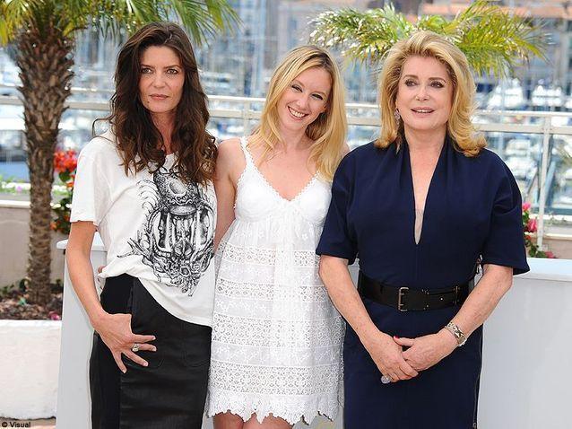 Catherine Deneuve, Ludivine Sagnier et Chiara Mastroianni