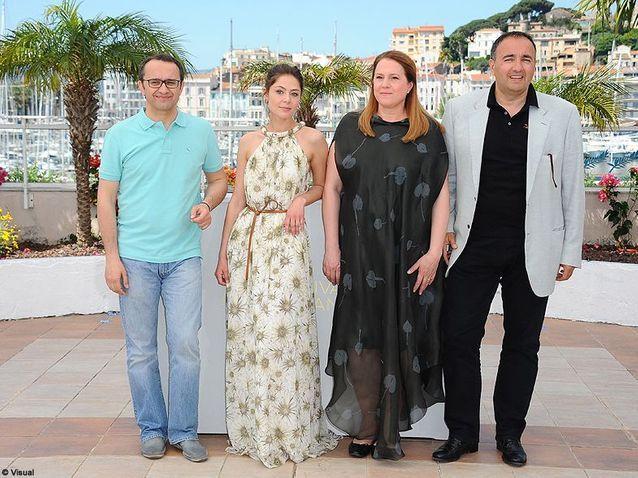 """L'équipe du film """"Elena"""""""