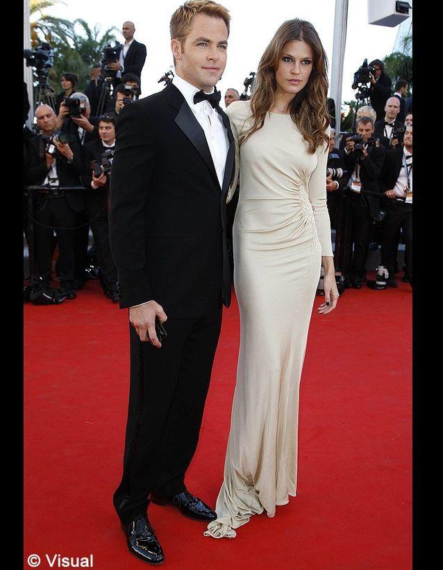 Chris Pine et sa compagne