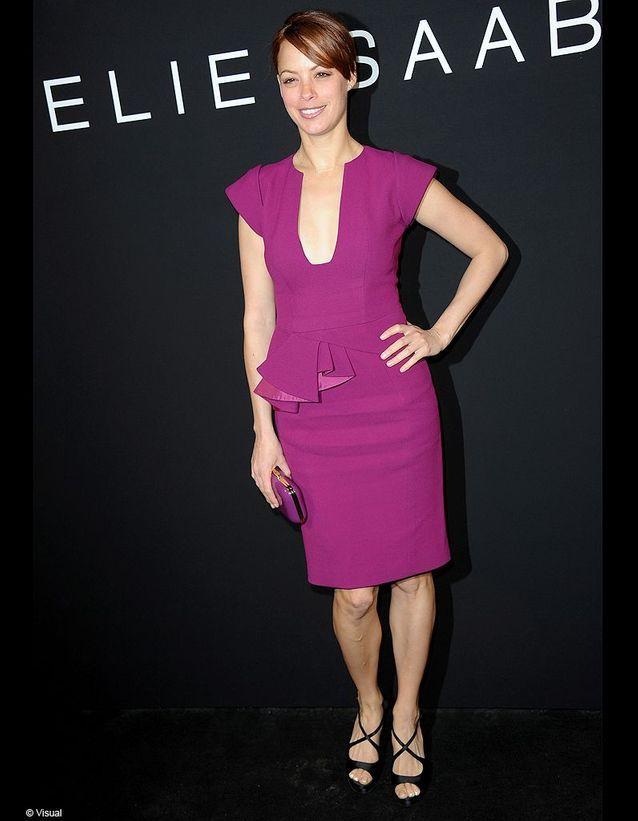 Qui était au front row du défilé Elie Saab pour choisir sa robe des Oscars ?