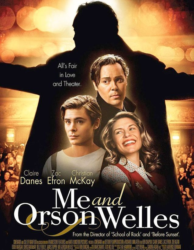 En 2009, il est le héros de « Me and Orson Welles »