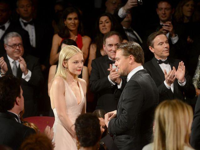 Carey Mulligan et Leonardo DiCaprio