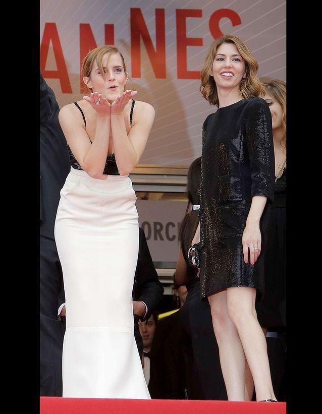 Emma Watson au côté de Sofia Coppola
