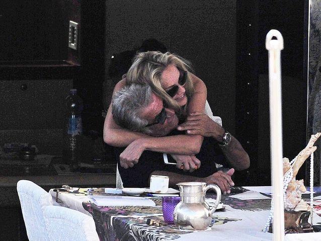 Sharon Stone et Roberto Cavalli