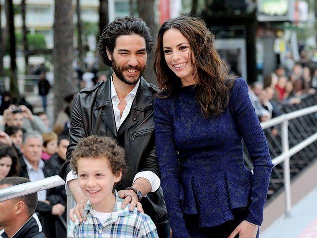 Tahar Rahim, Bérénice Bejo et le jeune Elyes Aguis