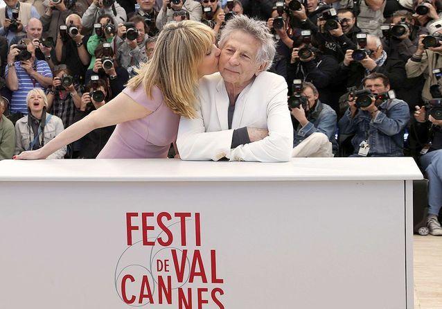 Roman Polanski et Emmanuelle Seigner pour « La vénus à la fourrure »