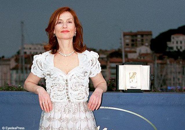 Isabelle Huppert à Cannes