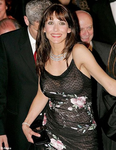 1999- Sophie Marceau dérape en direct
