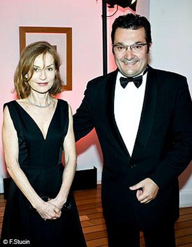 Didier Quillot et Isabelle Huppert