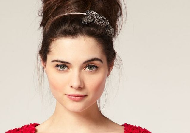 variété de dessins et de couleurs enfant répliques Accessoires cheveux : 20 bijoux de tête - Elle